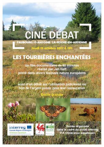 Ciné débat Tourbières enchantées