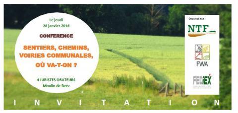 Conference Sentiers 28 janvier 2016