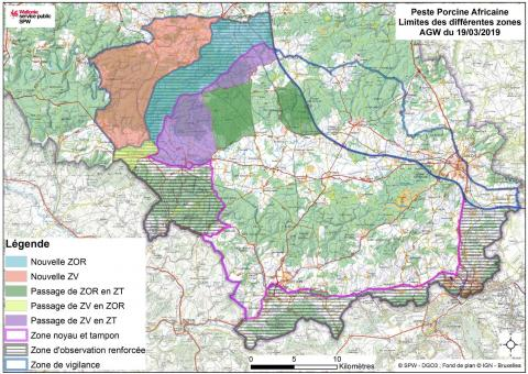 PPA zones en date du 19 mars 2019