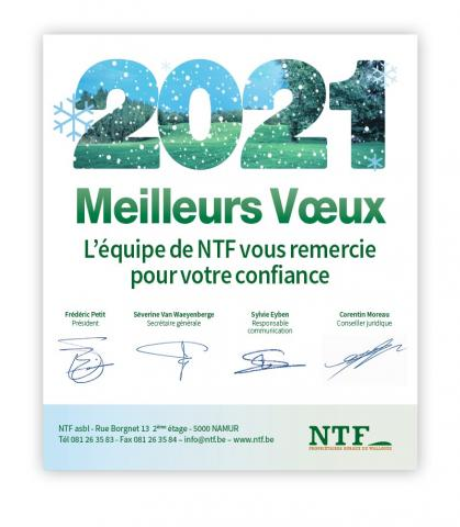 Voeux NTF 2021