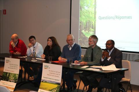 Orateurs Conférence NTF 25 octobre 2016 La forêt privée wallonne