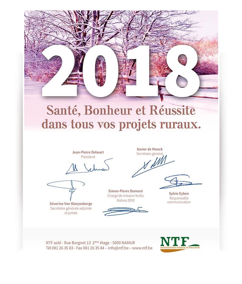 Meilleurs Voeux de NTF !